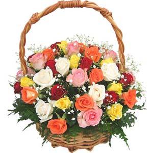 Rosy Heaven Basket