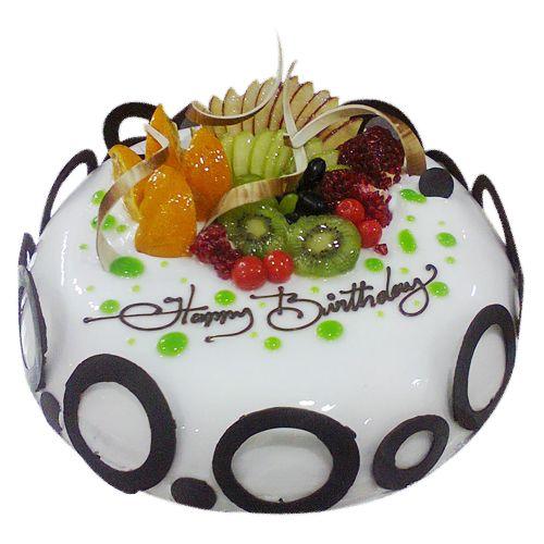 Lovely Fruit cream cake