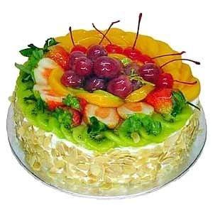 Custard Fruit cake