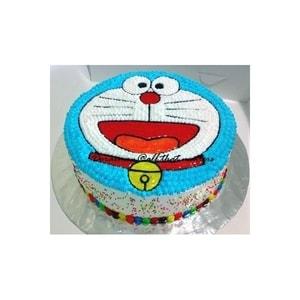 Doraemon Face Cake