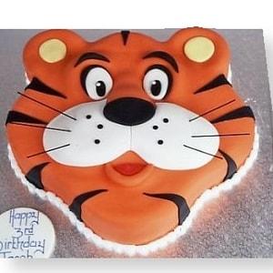 Tiger Designed cake