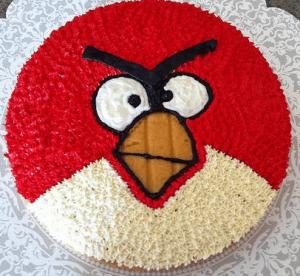Fly Angry Bird Cake