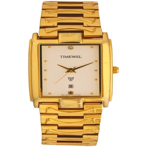 Timewel White Dial Men's Watch