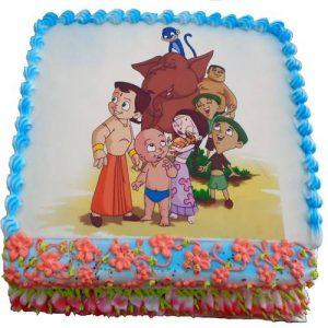 Chota Bheem Group Cake