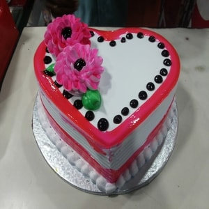 Hearty Pink Pineapple Cake