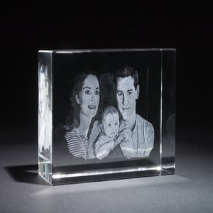 Crystal Engraved Photos