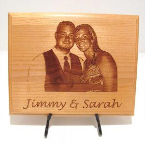 Wooden Engraved Personalized Frame