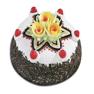 Black Forest Designed Cake