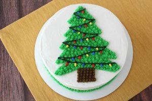 Xmas Tree Cake-1.5kg