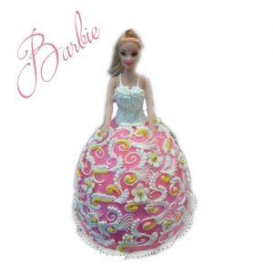 Sensation Barbie Cake
