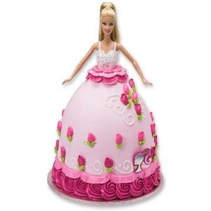 Affectionate Barbie Cake