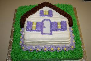 A Warm Welcome Cake