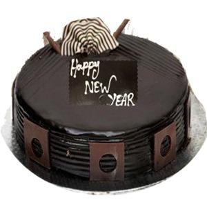 New Year Chocolate cake