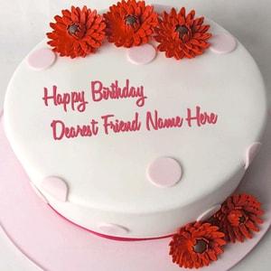 Flowered Polka Cake