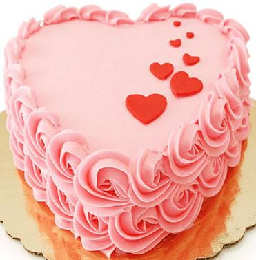 Lovely Heart Cake