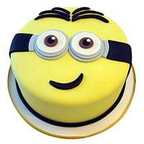 Round Minion Cake