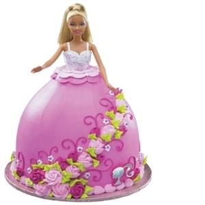 Adorable Barbie Cake