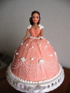 Ravishing Barbie Cake