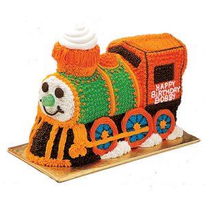 Designed Train Cake