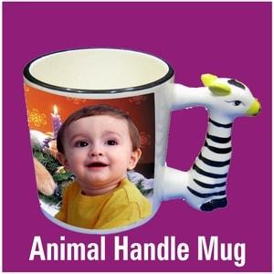 Animal Handle Photo Mug