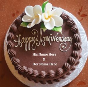Designed Flower Cake