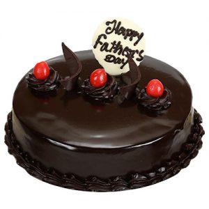 Fathers day Fabulous chocolate cake