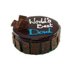 Fathers chocolate cake