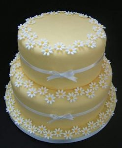 Lovable cream step cake