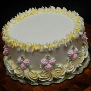 Plain creamy cake