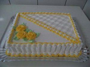 Tremendous Square cake