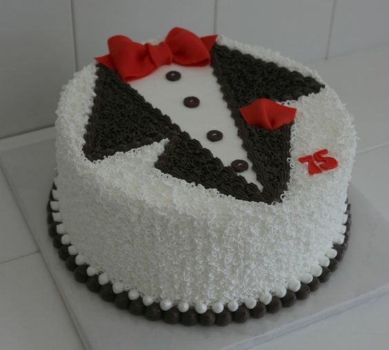 Gentlemen cake