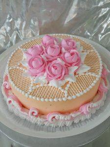 Nice looking flower cake