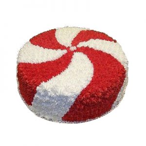 Bewitching Red and white cake