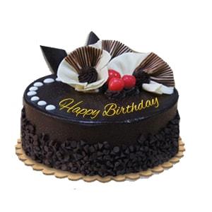 Delicious chocolate Rise Cake
