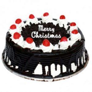 Luscious Christmas cake