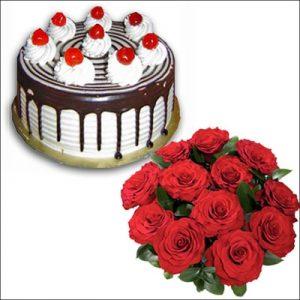 Enjoyable cake combo