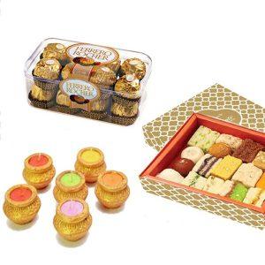 ferrero rocher with sweets