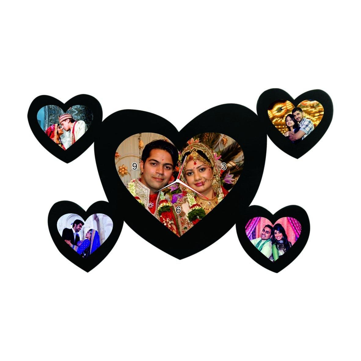 Heart shape photo frames