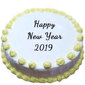 New Year lovely cake