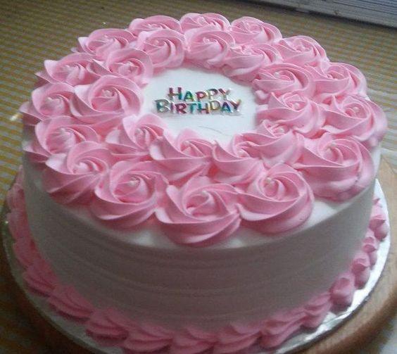Strawberry Flavor rose cake