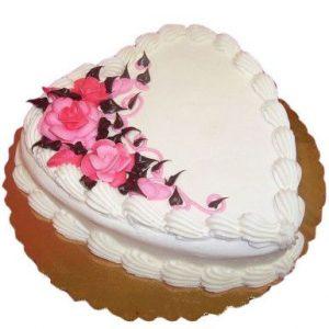 Pretty Valentine cake