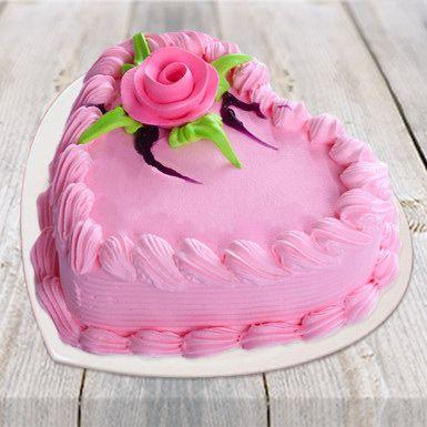 Charming Valentine Cake