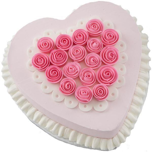 Cute Valentine cake 1 and Half Kg