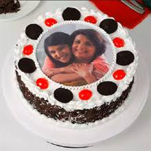 Mother and Daughter Photo Cake
