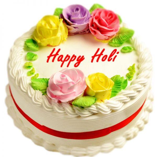 Holi Cake