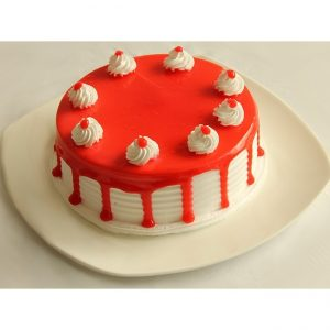 Cute juicy Eggless cake