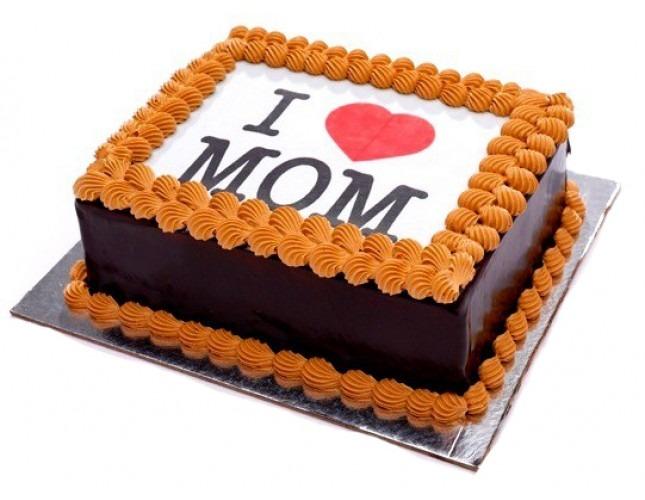 Adorable mom cake