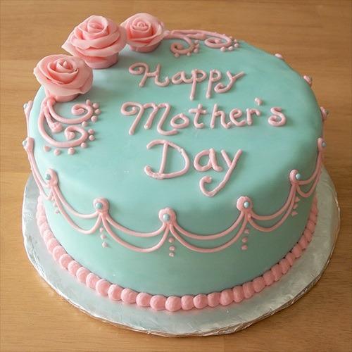 Pretty mom cake