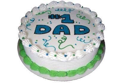 No.1 Dad Cake