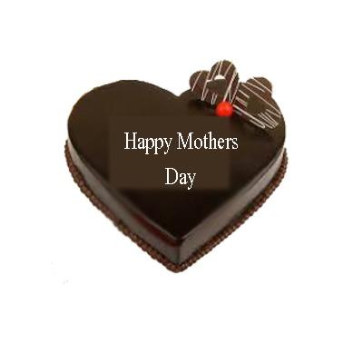 Lovely chocolate mom cake
